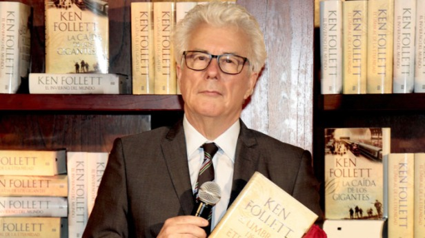 Ken Follett press conference, Barcelona, Spain - 22 Apr 2015