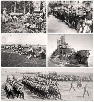 World War 1 collage