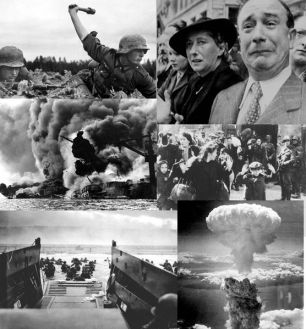 World War 2 collage