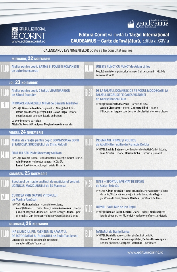 program Gaudeamus 2017