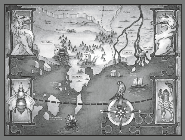 tradarea harta