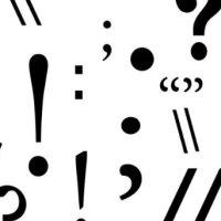 Erori în folosirea semnelor de punctuație și de ortografie în limbajul cotidian