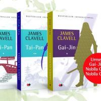 Seria de autor James Clavell - la Editura Litera si in Colectiile Libertatea