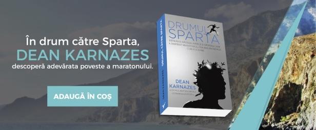 Drumul spre Sparta - coperta