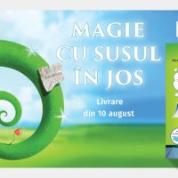Magie cu susul in jos - la Corint Junior